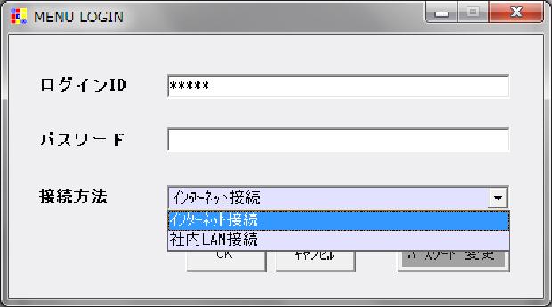 あらかじめログインIDに紐付けされたシステム範囲が利用可能